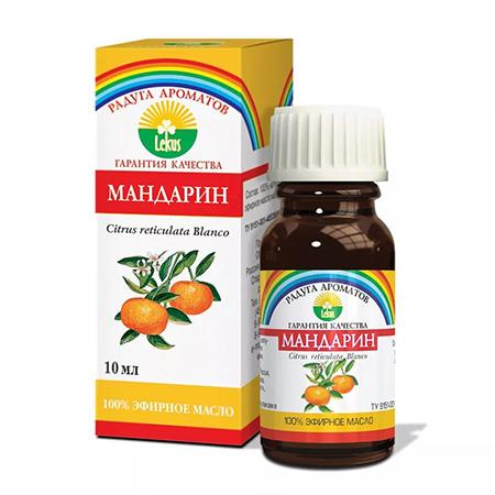 Эфирное масло мандарин 10 мл lekus