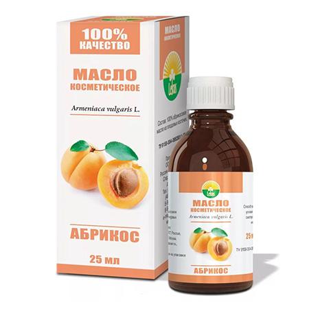 Косметическое масло абрикос lekus