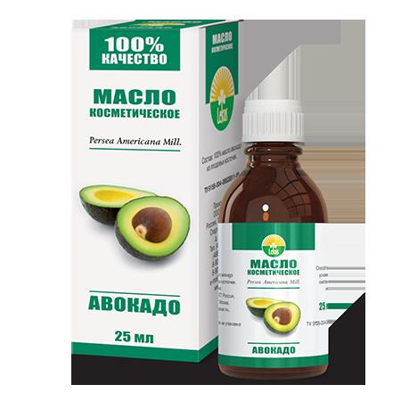 Косметическое масло авокадо lekus