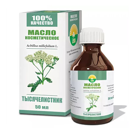 Растительное масло тысячелистник 50 мл lekus растительное масло расторопша 50 мл lekus