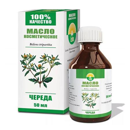 Растительное масло череда 50 мл lekus