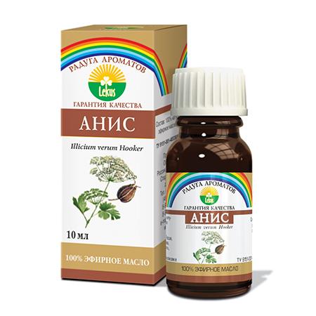 Эфирное масло анис 10 мл lekus