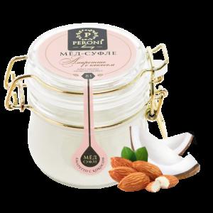Мед-суфле амаретто с кокосом №83 250 мл peroni honey