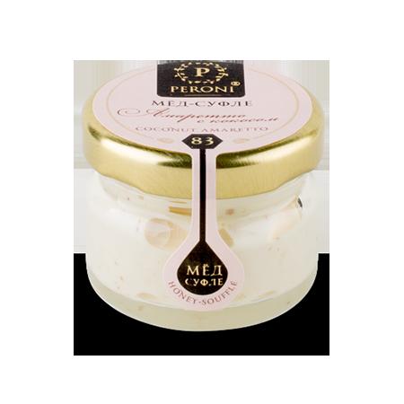 Мед-суфле амаретто с кокосом №83 30 мл peroni honey