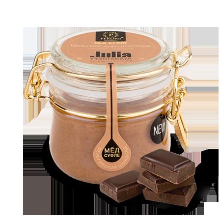 Мед-суфле бельгийский шоколад с фундуком 250 мл peroni honey