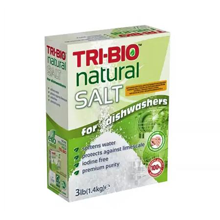 Натуральная соль для посудомоечных машин tri-bio