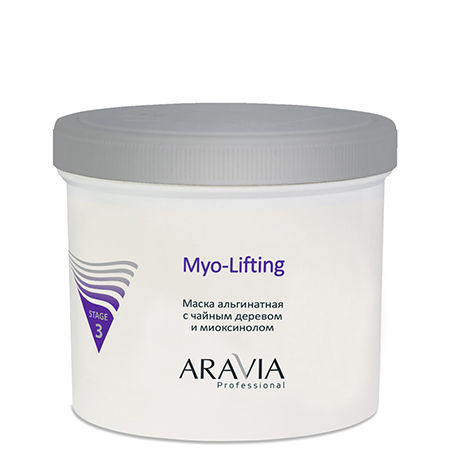 Маска альгинатная с чайным деревом и миоксинолом myo-lifting aravia professional маска альгинатная с чайным деревом и миоксинолом aravia professional aravia professional myo lifting