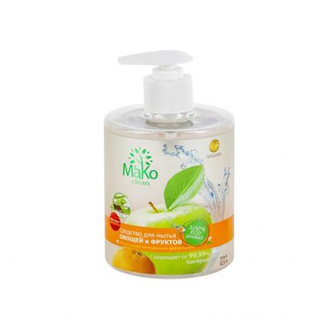 Спрей для мытья фруктов и овощей 500 мл mako clean