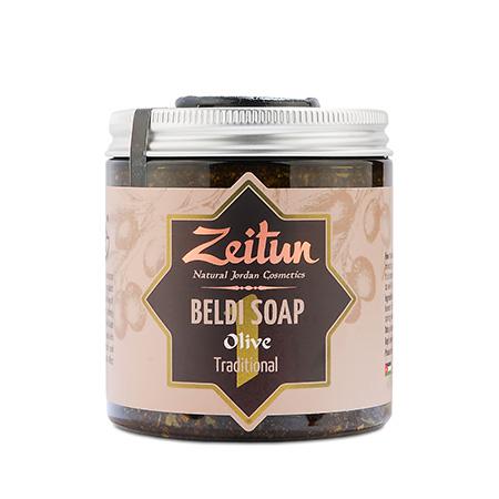 Деревенское мыло бельди №1 традиционное с оливой и эвкалиптом 250 мл зейтун