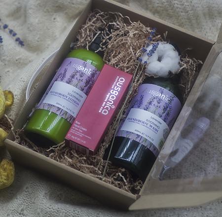 Подарочный набор летнее видение зимним вечером ausganica набор крем kora набор spa лифтинг уход набор