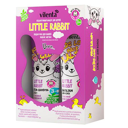 Подарочный набор little rabbit vilenta подарочный набор косметических масок для лица фруктовая серия vilenta