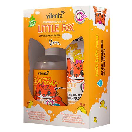 Подарочный набор little fox vilenta подарочный набор косметических масок для лица фруктовая серия vilenta