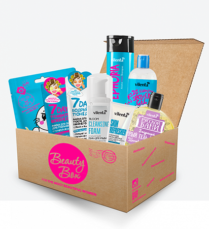 Beauty box happy santa vilenta beauty box pretty woman vilenta