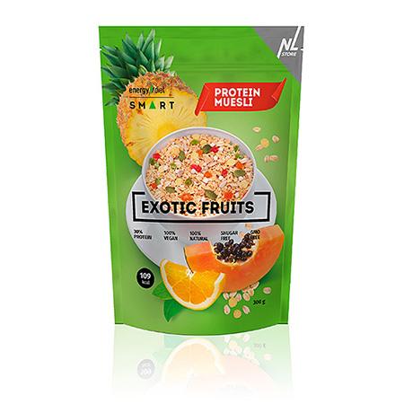 Мюсли с ананасом, апельсином и папайей exotic fruits energy diet коктейль айриш крим smart energy diet