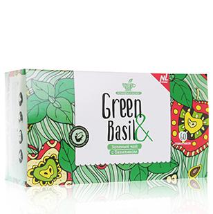 Зеленый чай с базиликом every green&basil energy