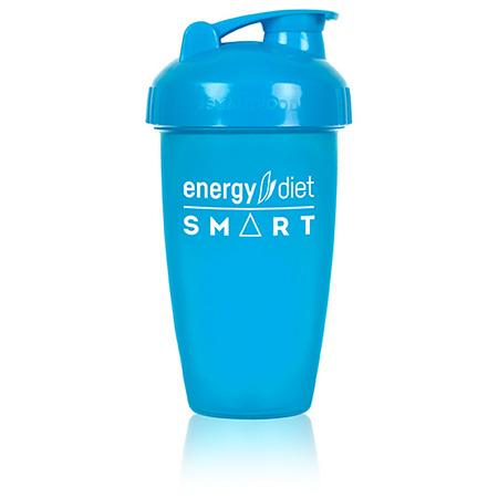 Шейкер голубой с клапаном energy diet недорого