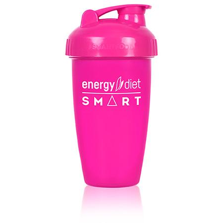 Шейкер розовый с клапаном energy diet коктейль айриш крим smart energy diet