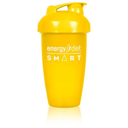 Шейкер желтый с клапаном energy diet коктейль айриш крим smart energy diet