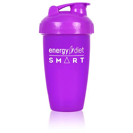 Шейкер фиолетовый с клапаном energy diet коктейль айриш крим smart energy diet