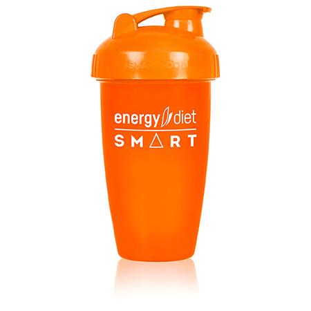 Шейкер оранжевый с клапаном energy diet коктейль айриш крим smart energy diet