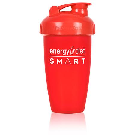 Шейкер красный с клапаном energy diet коктейль айриш крим smart energy diet