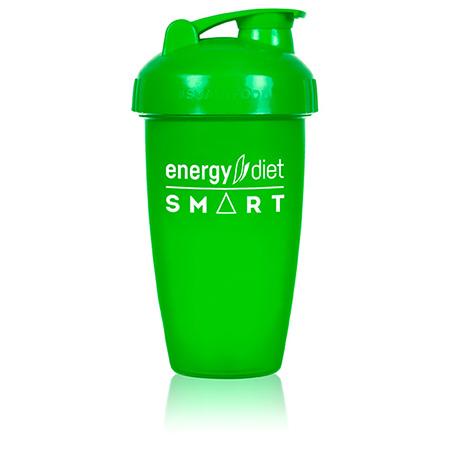 Шейкер зеленый с клапаном energy diet коктейль айриш крим smart energy diet