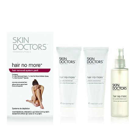 набор крем skin doctors hair no more pack набор 3 предмета Набор для удаления и замедления роста волос hair no more skin doctors