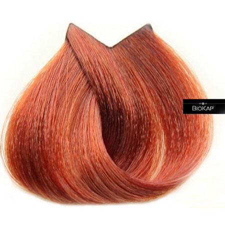 Краска для волос nutricolor delicato+ (цвет золотисто-каштановый тон 8.64) 140 мл biokap