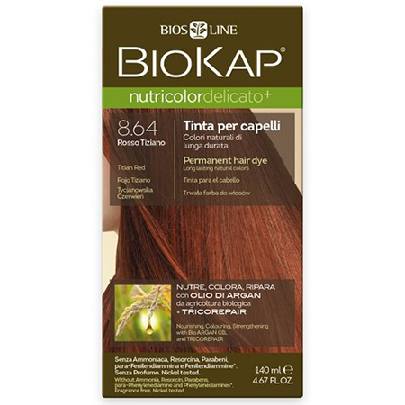 заказать Краска для волос золотисто-каштановый nutricolor delicato + 140 мл biokap