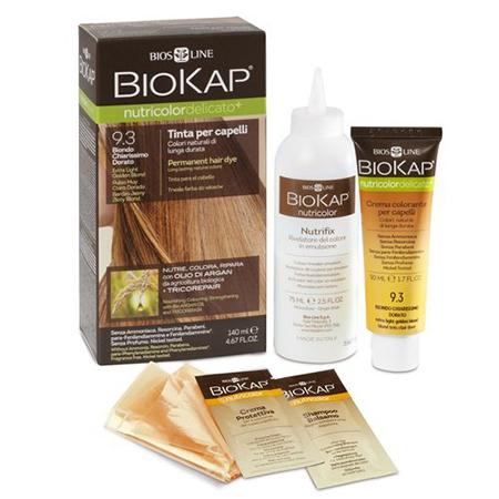 заказать Biokap Краска для волос блондин светло-золотой nutricolor delicato + 140 мл