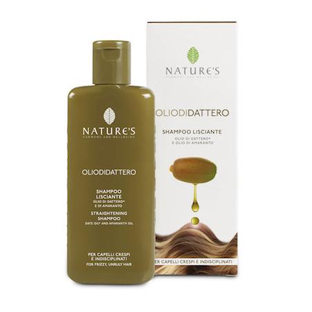 Oliodidattero шампунь выпрямляющий для волос nature's