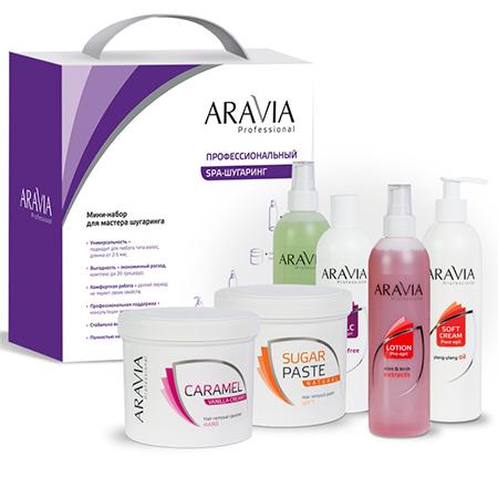 Мини-набор для мастера №2 aravia professional aravia professional карамель для депиляции ванильно сливочная плотной консистенции