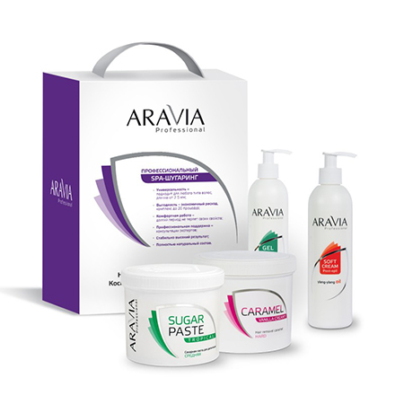 Промо-набор 3+1 №2 aravia professional протеин fuze сreatine сливочная карамель 750 г