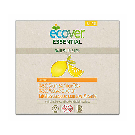 Экологические таблетки для посудомоечной машины классические 1400 г ecover essential
