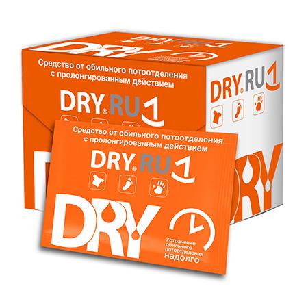 Салфетки от обильного потоотделения dryru dry ru средство от обильного потоотделения с пролонгированным действием roll 50 мл