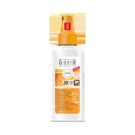 Био спрей солнцезащитный spf 20 lavera био молочко очищающее 2 в 1 basic lavera