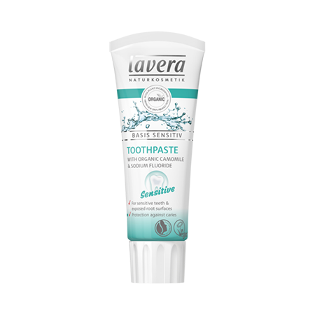 Зубная био паста для чувствительных зубов basis sensitiv lavera био лосьон для тела увлажняющий basis sensitiv lavera