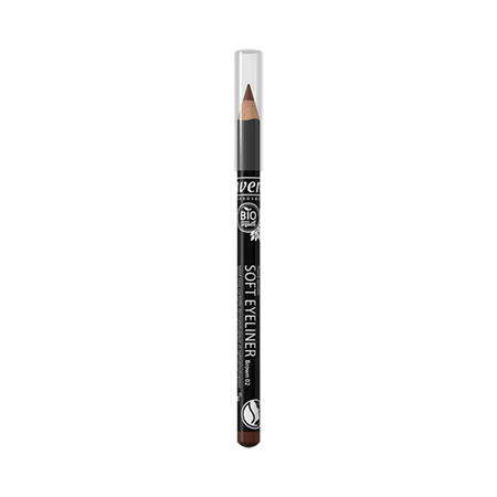 Мягкий карандаш для глаз тон 02 коричневый lavera мягкий био тоник для лица lavera
