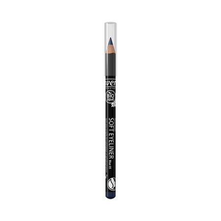 Мягкий карандаш для глаз тон 05 синий lavera