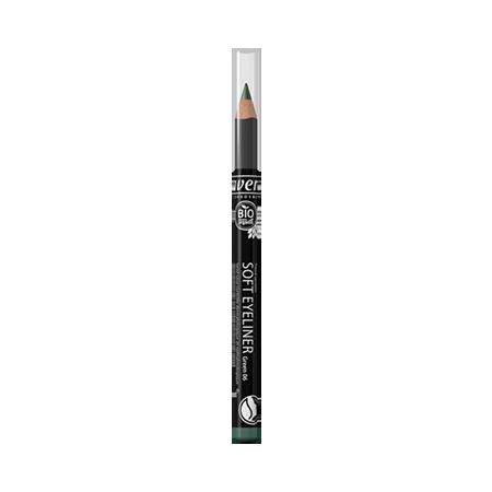 Мягкий карандаш для глаз тон 06 зеленый lavera