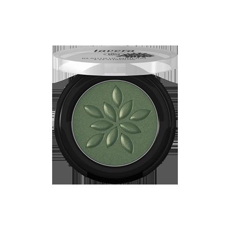 Минеральные тени моно тон 19 зеленый камень lavera