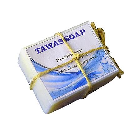 Кокосовое натуральное мыло ручной работы tawas crystal