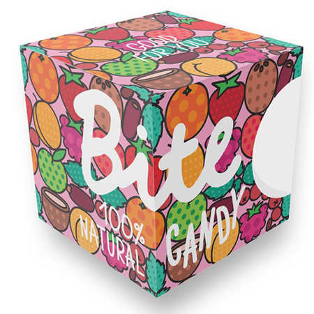 Набор фруктово-ягодных конфет candy pink bite love bite