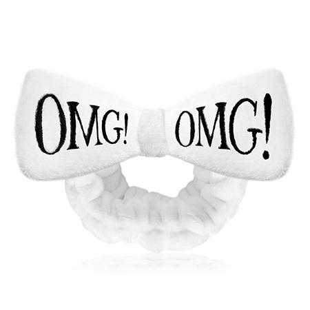 Бант-повязка для фиксации волос  время косметических процедур (белый) double dare omg!