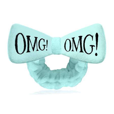 Бант-повязка для фиксации волос  время косметических процедур (мятный) double dare omg!