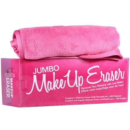 Большое полотенце для снятия макияжа и боди-арта (розовое) jumbo makeup eraser alignment highlight rubber triangle eraser white