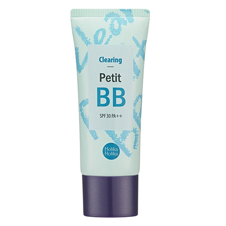 Бб-крем для лица petit bb clearing spf 30, очищение holika holika очищение holika holika бальзам pignose clear black head deep cleansing oil balm объем 30 мл