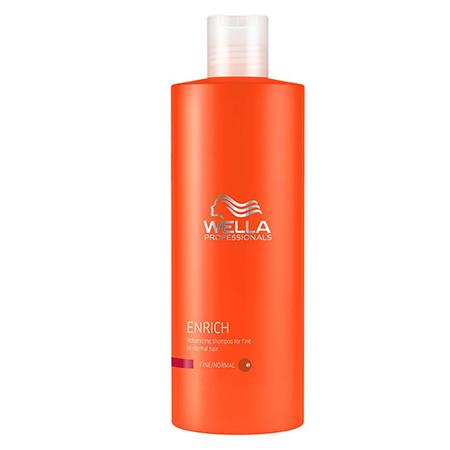 Питательный шампунь для объема нормальных и тонких волос 1000 мл wella