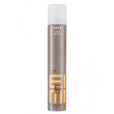 Лак для волос экстрасильной фиксации super set 300 мл wella wella eimi super set – лак для волос экстрасильной фиксации 500 мл