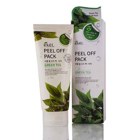 Маска-пленка с экстрактом зеленого чая ekel маска пленка с экстрактом граната ekel